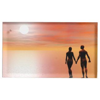 Romance de couples - 3D rendent Porte-photos