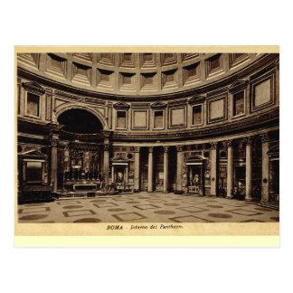 Rome, à l'intérieur du Panthéon Carte Postale
