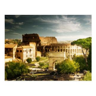 Rome éternel en raison de carte postale de