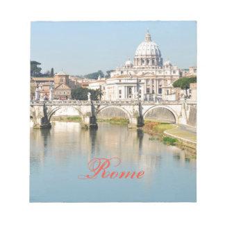 Rome, Italie Bloc-note