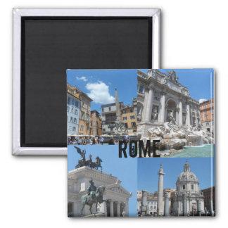 Rome, Italie Magnet Carré