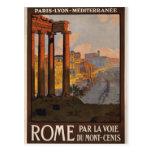 Rome par le Mont-Cenis Carte Postale