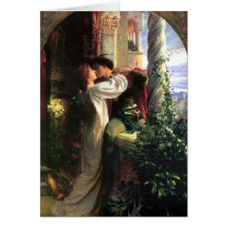 Romeo et Juliet Carte De Vœux