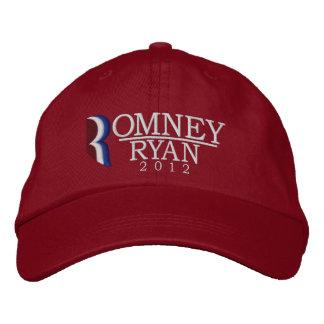 Romney/casquette brodé de Ryan 2012 Casquette Brodée