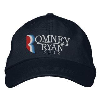 Romney/lettre R de Ryan 2012 a brodé le casquette Casquette Brodée