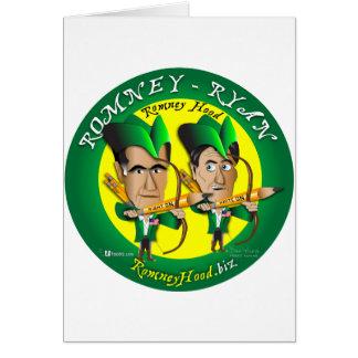 Romney Ryan 2 archers Carte De Vœux