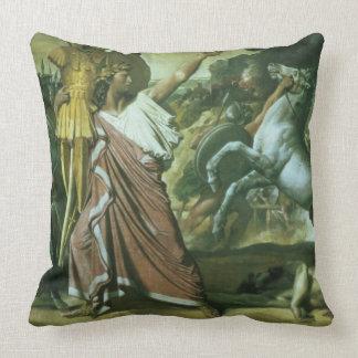Romulus, conquérant d'Acron, prenant son butin à t Oreillers