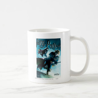 Ron et Ginny sur les balais 1 Mug Blanc