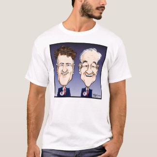 Ron et T-shirt w/b de Paul de couche-point