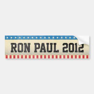 Ron Paul 2012 Autocollant Pour Voiture