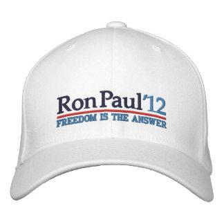 Ron Paul de' casquette de style 12 campagnes