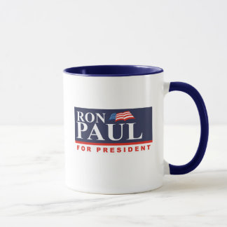 RON PAUL POUR le PRÉSIDENT (interdiction Tasse