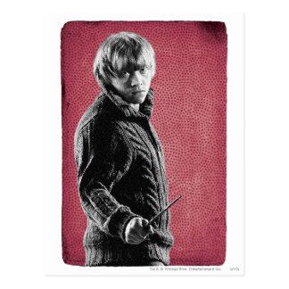 Ron Weasley 5 Carte Postale