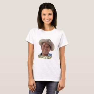 Ronald Reagan dans le casquette de cowboy T-shirt