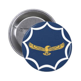 rondeau de militaires d'aviation de l'Afrique du S Badge Rond 5 Cm