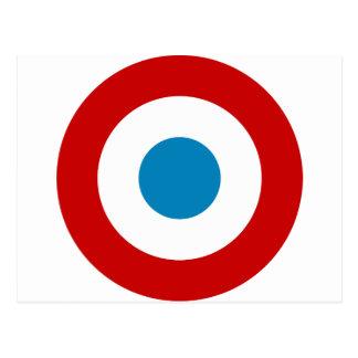 Rondeau France Cocarde Tricolore de révolution Carte Postale