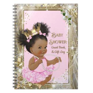 Rondin de cadeau de princesse baby shower et livre