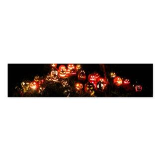 Ronds De Serviette Halloween Jack-o'-lantern recueillant des bandes