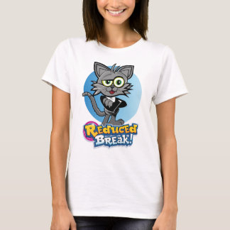 Rooskie est le chat visuel fou à la coupure t-shirt