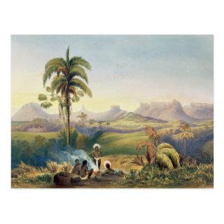 Roraima, une gamme remarquable des montagnes de carte postale