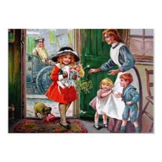 Rosa C. Petherick : Présents pour les pauvres Carton D'invitation 12,7 Cm X 17,78 Cm