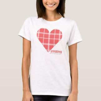 Rose 4 de plaid t-shirt