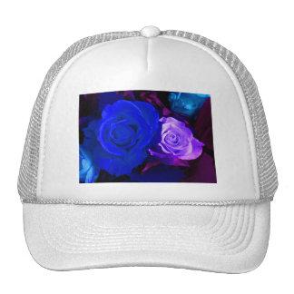Rose bleu de pourpre casquette de camionneur