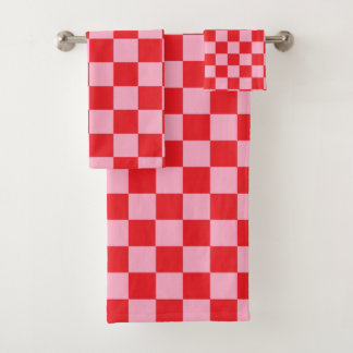 Rose Checkered et rouge