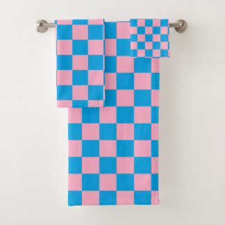 Rose Checkered et turquoise