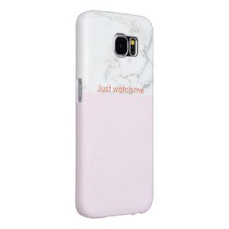 Rose-clair - Samsung de marbre enferment avec le