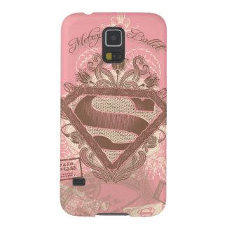 Rose de ballet de métropole de Supergirl Coques Pour Galaxy S5