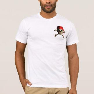 Rose de boussole de pirate t-shirt