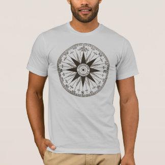 Rose de boussole vintage t-shirt