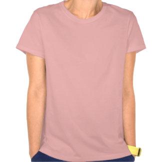 Rose de cinésiologie de dames t-shirts