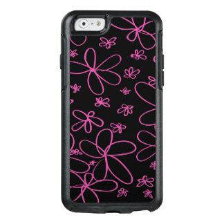 Rose de griffonnage de fleur coque OtterBox iPhone 6/6s