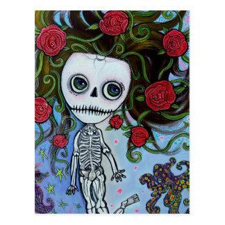 Rose de la mer carte postale