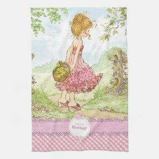 """Rose """"de marche"""" de serviette de cuisine serviettes pour les mains"""