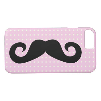 Rose de moustache coque iPhone 7