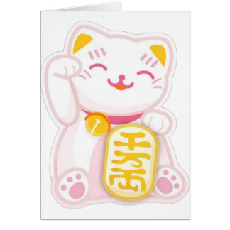 rose de neko de maneki cartes