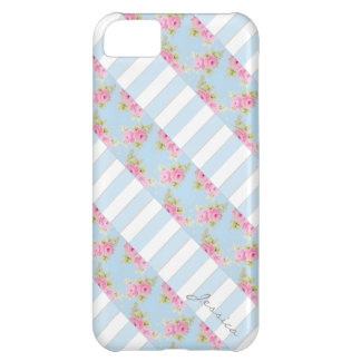 Rose de rose et caisse iPhone5 personnalisable de Coque iPhone 5C