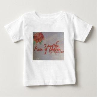 rose de Sharon T-shirt Pour Bébé