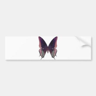 Rose détaillé de papillon autocollant pour voiture
