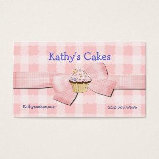 Rose et cartes de visite de boulangerie vérifiés