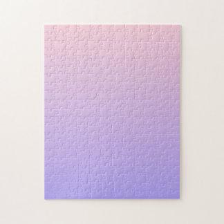 Rose et pourpre de gradient puzzle