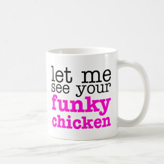Rose génial de poulet mug