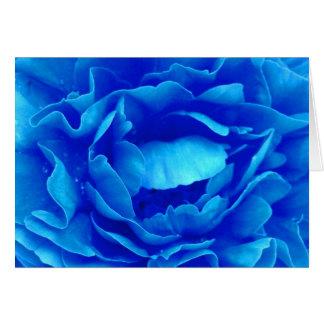 Rose heureux de bleu de fête des pères III Carte De Vœux