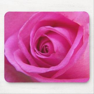 Rose lumineux Mousepad de rose Tapis De Souris