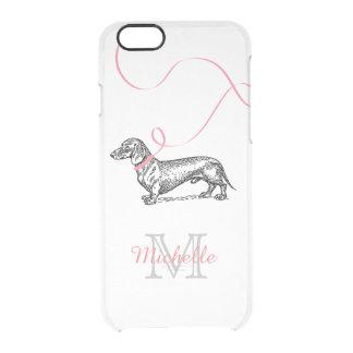 ROSE MIGNON DE TECKEL DE L'AMOUREUX DES CHIENS COQUE iPhone 6/6S