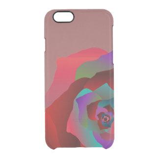 Rose multicolore, coque iPhone 6/6S