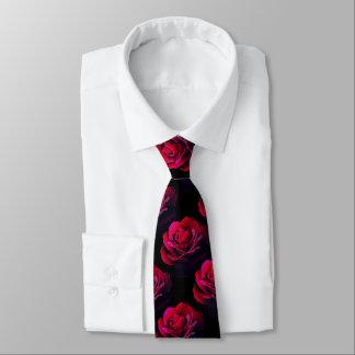 Rose rouge cravate